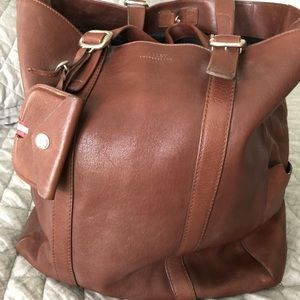 Bally of Switzerland leather tote